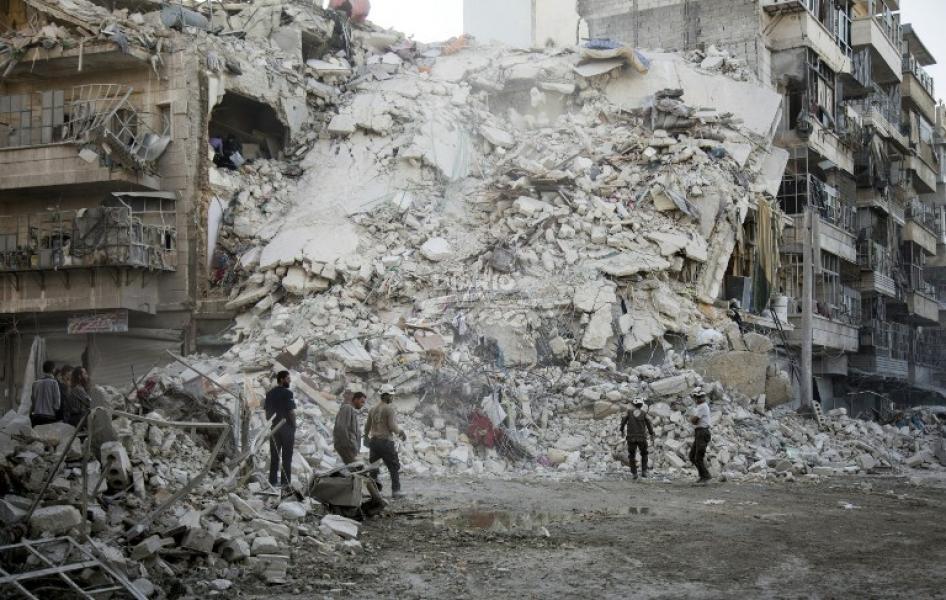 Rusia extiende un día más su alto el fuego en Alepo