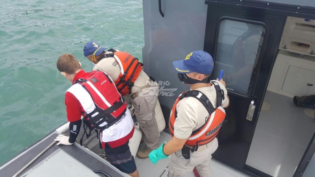 Hallan cuerpo de uno de los jóvenes ahogados en Quepos