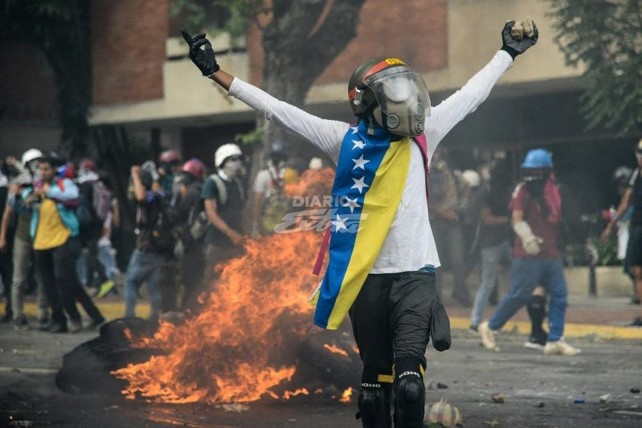 Investigan muerte de mujer durante manifestación en Lara