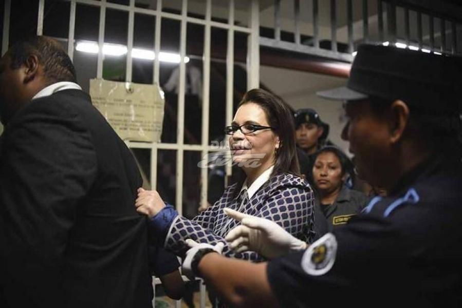 Guatemala recibe pedido de EE.UU. para extraditar a Baldetti por narcotráfico