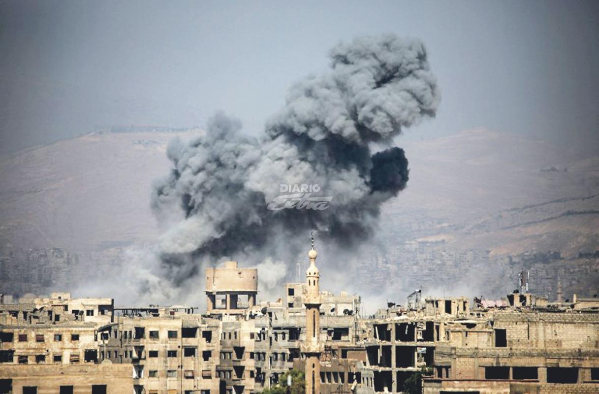 Bombardeo acaba con 30 terroristas