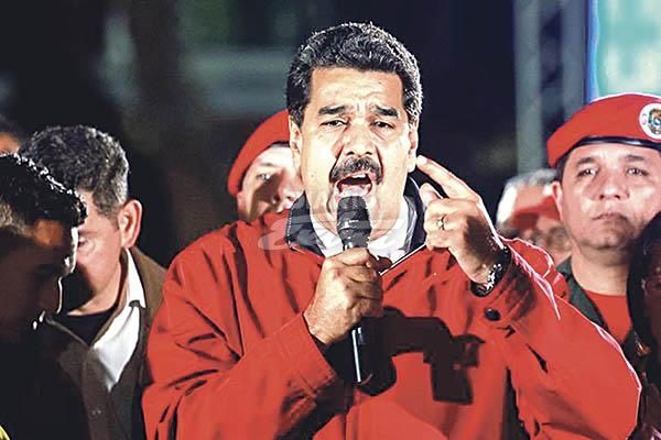 Gobierno de EE.UU. sanciona al Presidente de Venezuela Nicolás Maduro