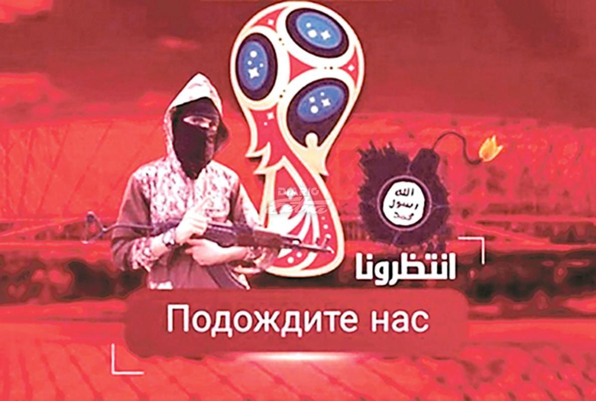 ISIS lanza amenaza contra Mundial de Rusia 2018