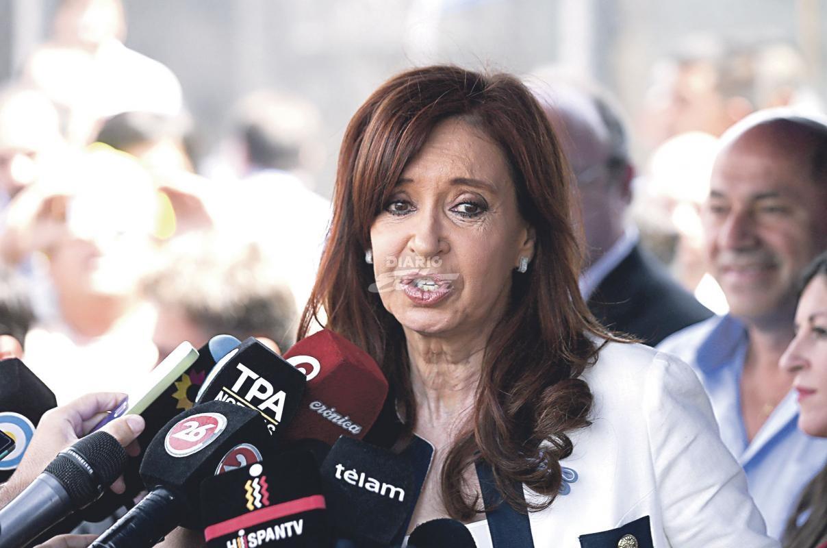 Conmigo no van a poder — Cristina Fernández
