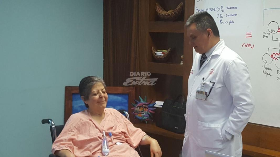 Tumor de 34 kilogramos fue retirado de una mujer en Hospital México