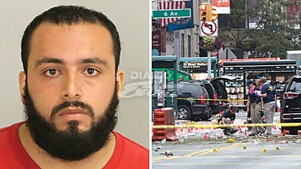 Cadena perpetua para terrorista que puso una bomba en Nueva York