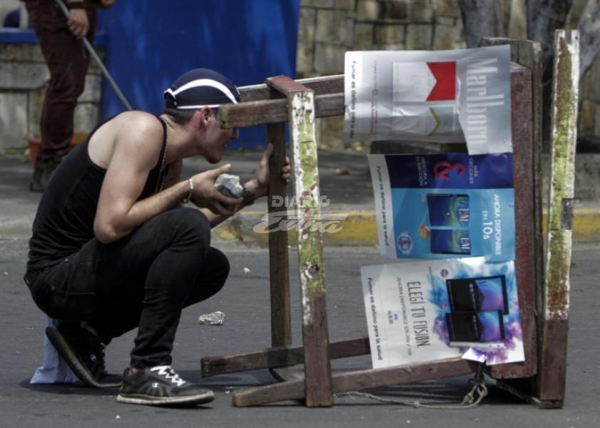 Represión y censura en Nicaragua ante protestas por reforma al Seguro Social