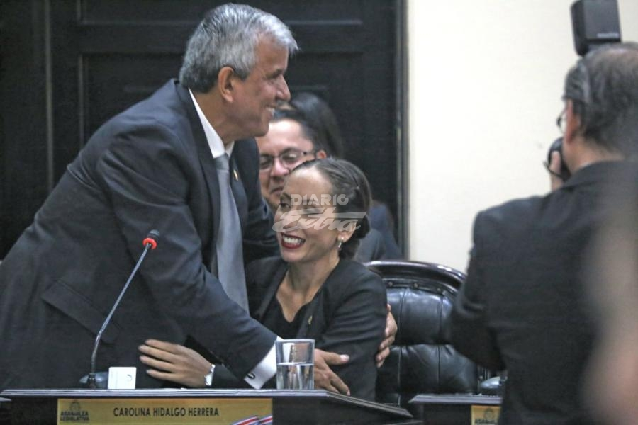 Carolina Hidalgo Herrera es Presidenta de la Asamblea Legislativa