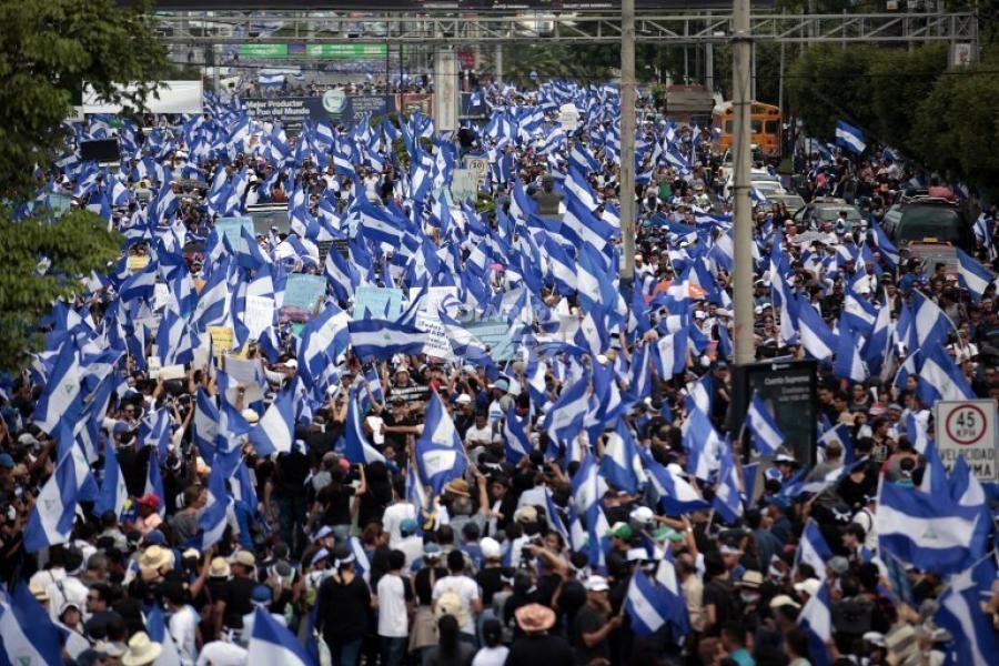 Quince muertos durante una protesta en Nicaragua