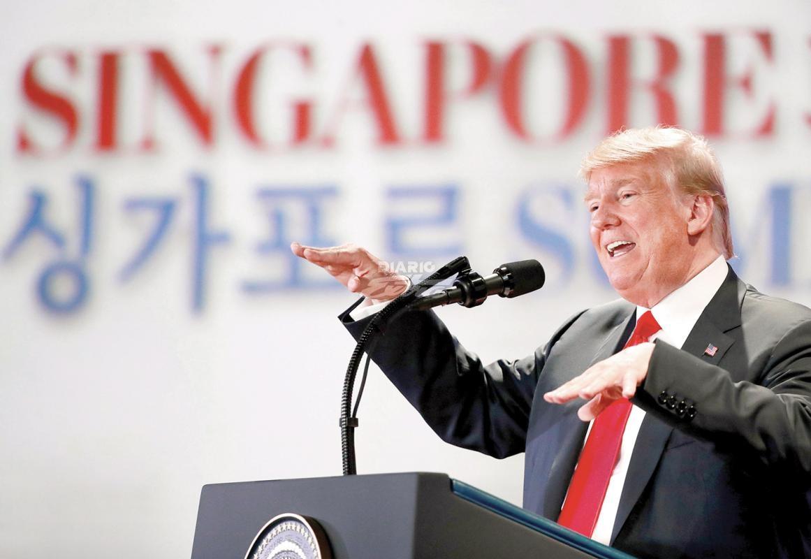 Trump reafirmó medidas que separan familias de inmigrantes