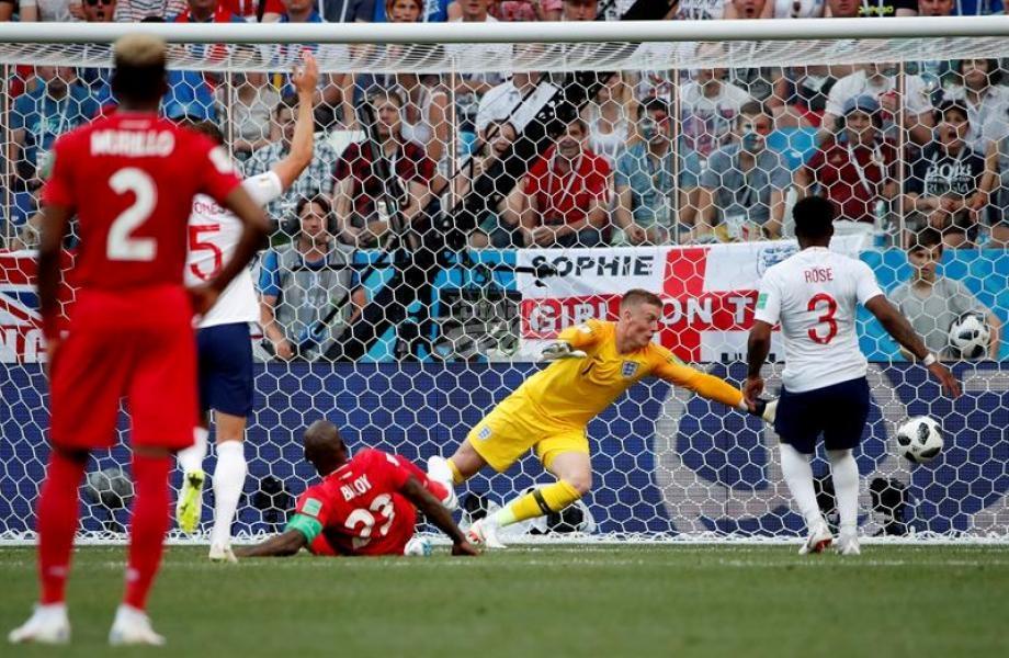 La celebración del histórico gol de Felipe Baloy asombró a David Beckham