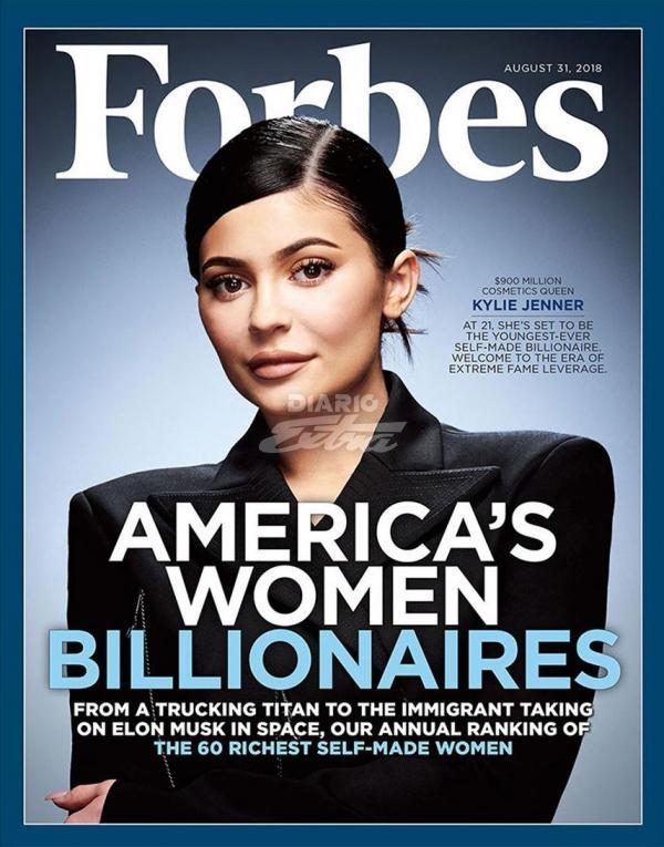 Kylie Jenner ¡la billonaria más joven de Estados Unidos!