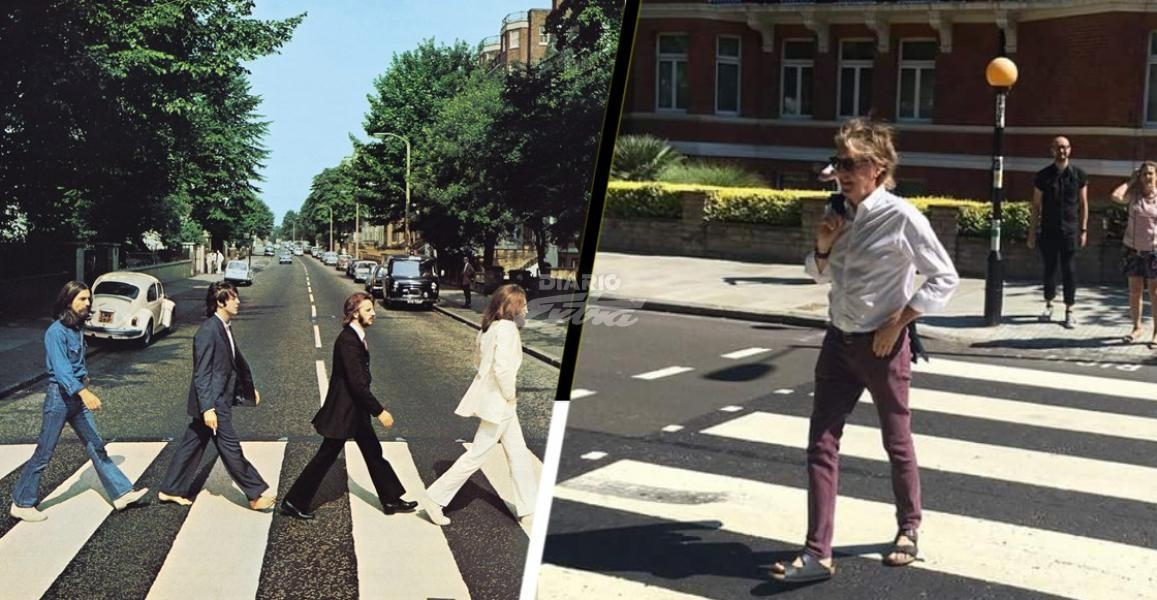 Paul McCartney volvió a cruzar Abbey Road — His Majesty