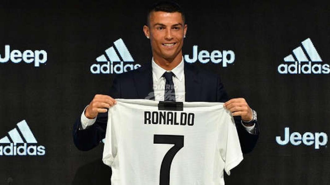 Cristiano abre su historial goleador con la Juventus