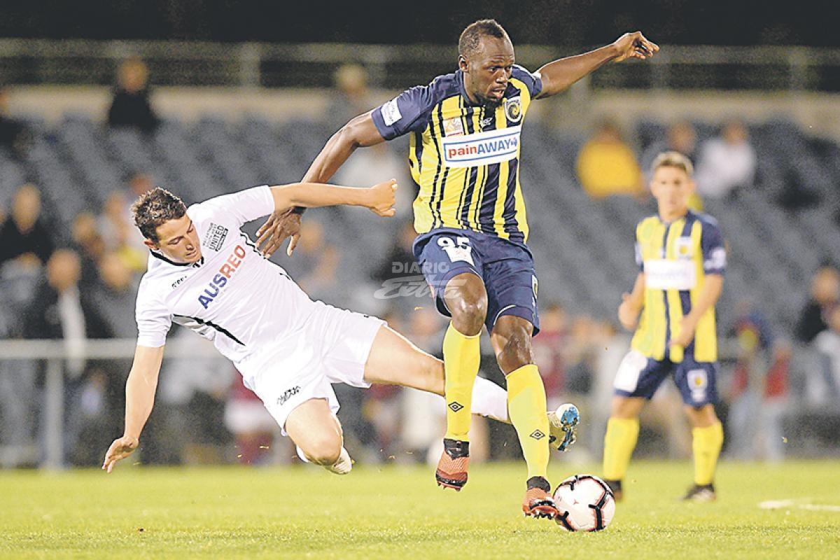 Usain Bolt, sorprendido por tener que pasar un control antidopaje