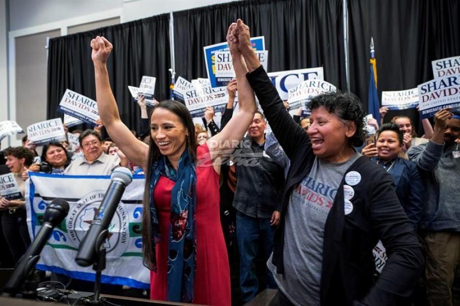 Dos demócratas serán las primeras indígenas en el Congreso de EEUU
