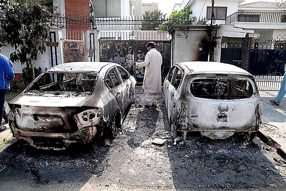 Atentado en Pakistán deja al menos 25 muertos y 35 heridos