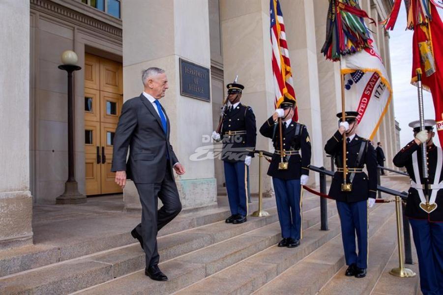 Trump anuncia el cese del secretario de Defensa James Mattis