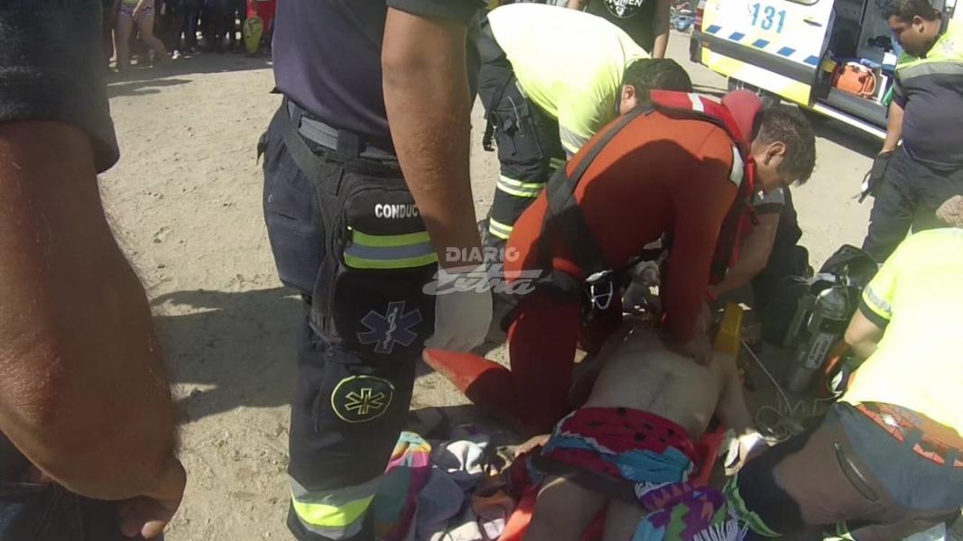 Pareja de abuelitos mueren ahogados tras intentar rescatar a su nieta