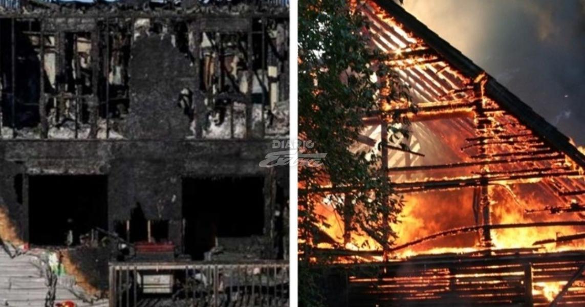 Mueren siete hermanitos en incendio en Canadá — Tragedia