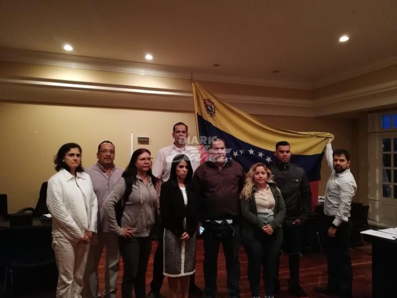 Representante designada por Guaidó tomó posesión de su cargo