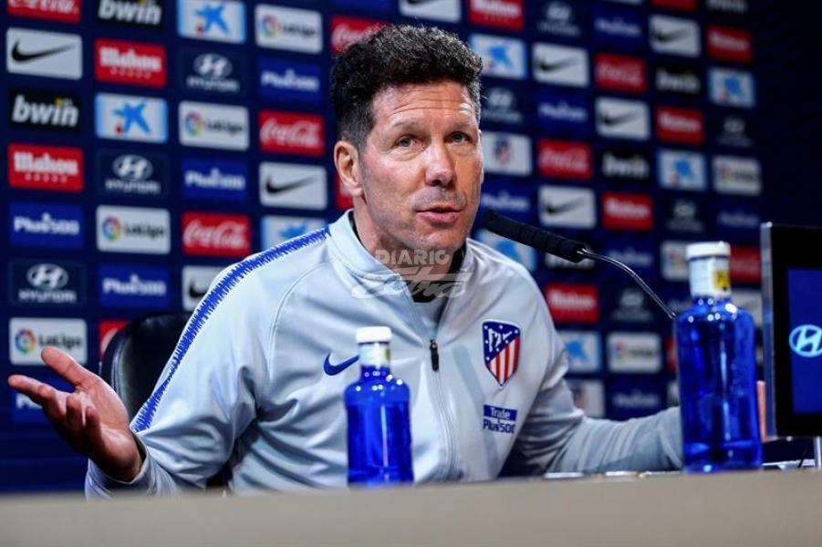 La UEFA expedienta al 'Cholo' Simeone