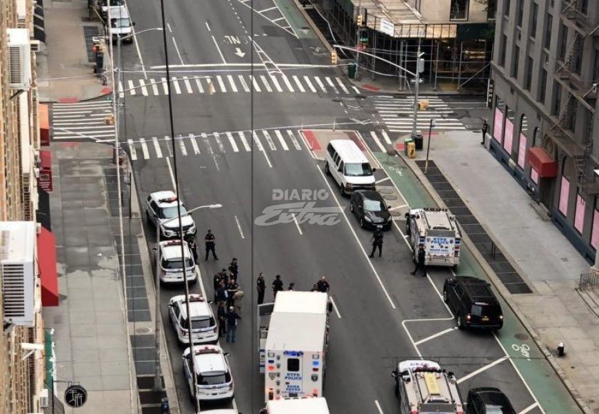 (+FOTOS) Desalojan metro en Manhattan por paquetes sospechosos
