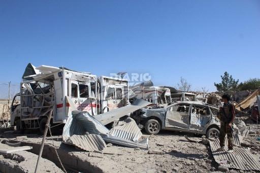 29 muertos en un atentado y un ataque con drones en Afganistán