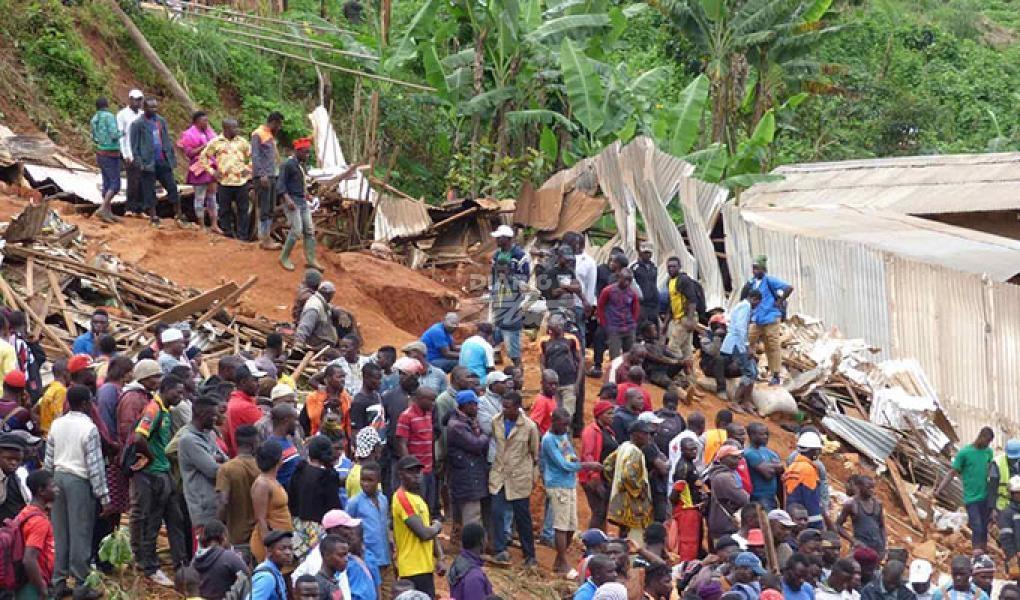Camerún: Al menos 37personas mueren en un deslizamiento de tierra por lluvia