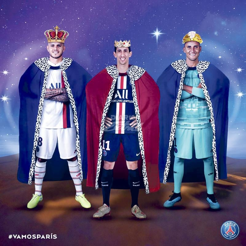 Hat-trick de Mauro Icardi para la goleada de Paris Saint Germain