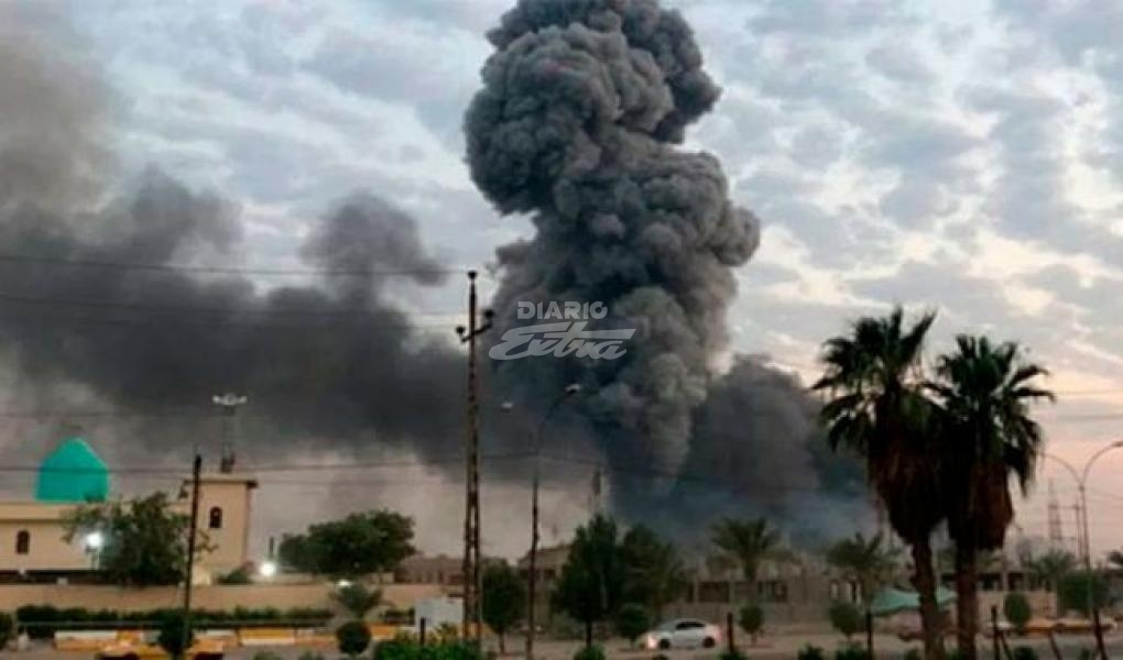 Impactan cohetes en base aérea de EEUU; se reportan heridos