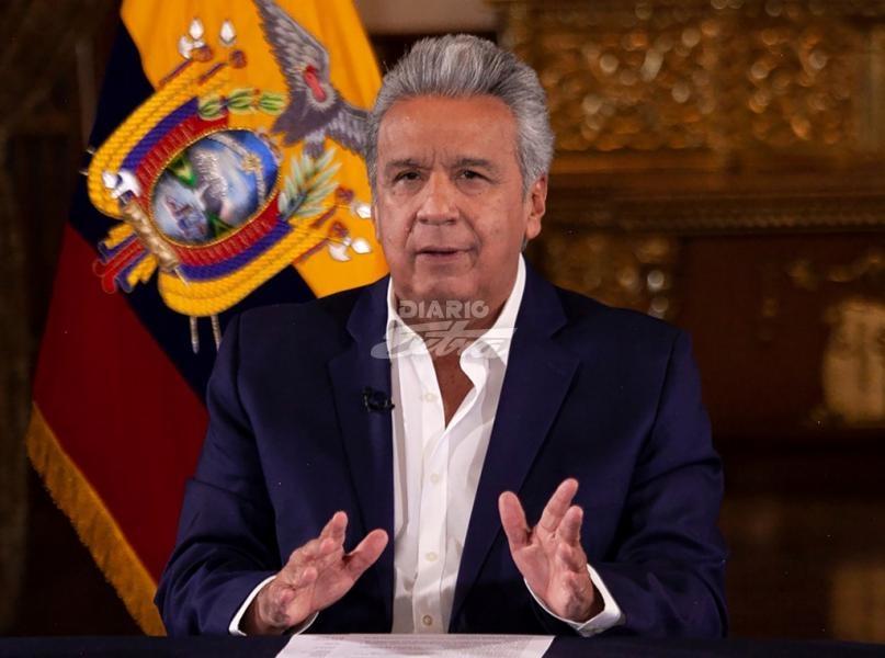 Presidente Lenín Moreno declaró 15 días de duelo nacional — Coronavirus en Ecuador