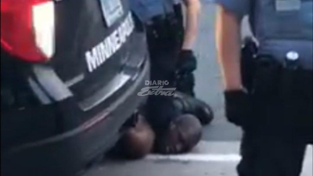 Policía de Mineápolis redujo hasta matar a afroamericano desarmado