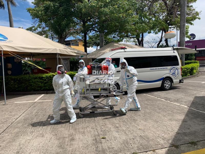 Hombre de 81 años fallece por Covid-19 en Costa Rica